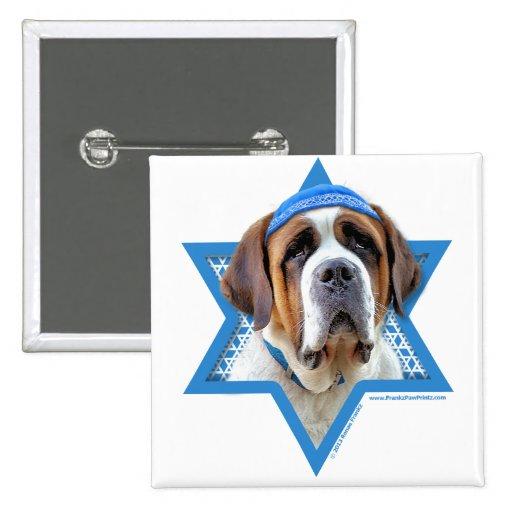 Hanukkah Star of David - St Bernard Pins