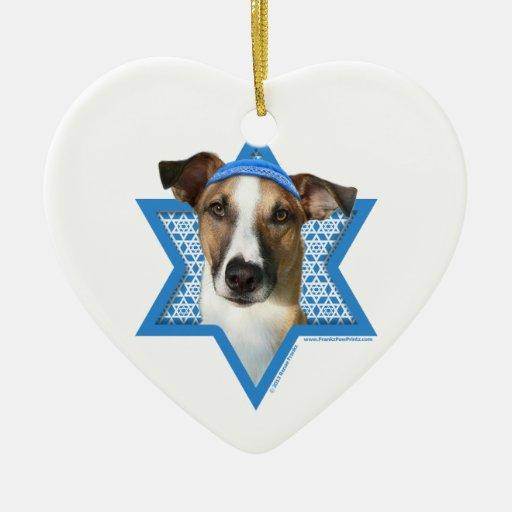 Hanukkah Star of David - Whollie - Coney Christmas Tree Ornament