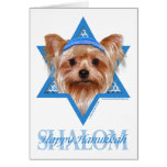 Hanukkah Star of David - Yorkshire Terrier