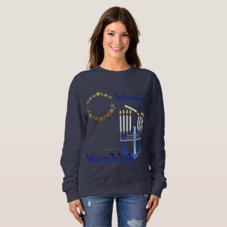 Hanukkah Stars Ladies Sweatshirt
