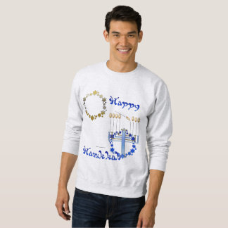Hanukkah Stars Men's Sweatshirt