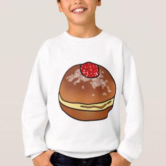 Hanukkah Sufganiyah Jelly Donut Sweatshirt