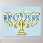 Hanukkah Teeth Poster
