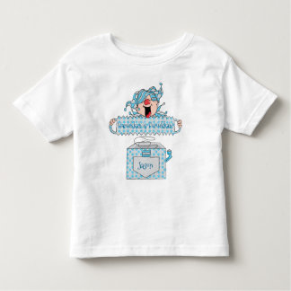 "Hanukkah Toddler Silver Shirt ""Dreidel in the Box"""