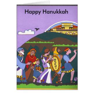 Hanukkah Victory Greeting Card