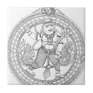 Hanuman Ceramic Tile