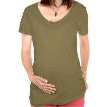 Hanuman Langur And Baby, Watercolor Maternity Shirt