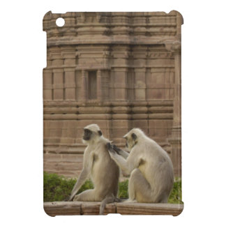 Hanuman Langurs or Black-faced, Common or Grey iPad Mini Case