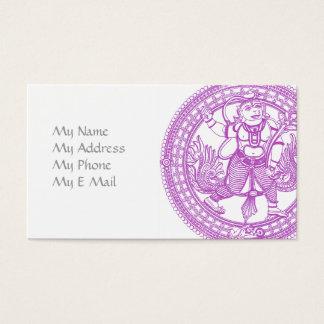 Hanuman Monkey Calling Card