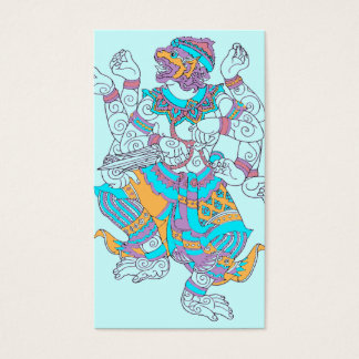 Hanuman Monkey God Business Card