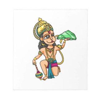 Hanuman Notepad