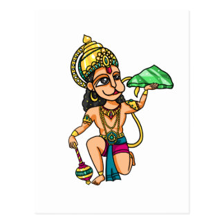 Hanuman Postcard