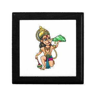 Hanuman Small Square Gift Box