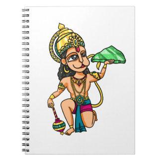Hanuman Spiral Note Books