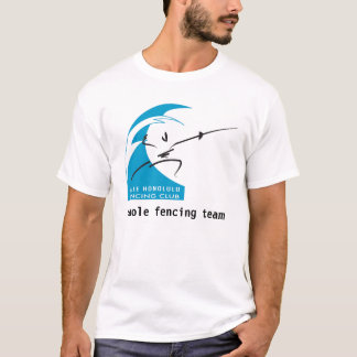 Haole fencing team T-Shirt