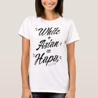 Hapa, White Plus Asian = Hapa Hoodie