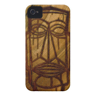 Hapalua Tiki Hawaiian Faux Koa Wood iPhone 4 Cases