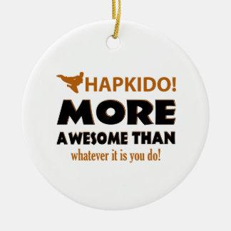 HAPKIDO! DESIGN CERAMIC ORNAMENT