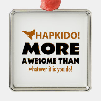 HAPKIDO! DESIGN METAL ORNAMENT