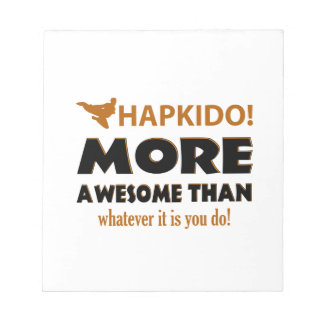 HAPKIDO! DESIGN NOTEPAD