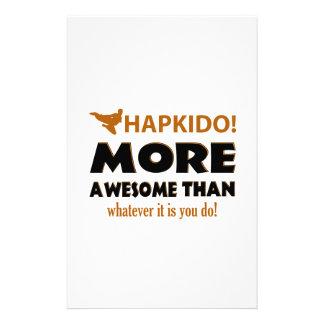 HAPKIDO! DESIGN STATIONERY