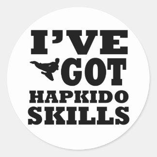 Hapkido Martial Arts designs Round Sticker