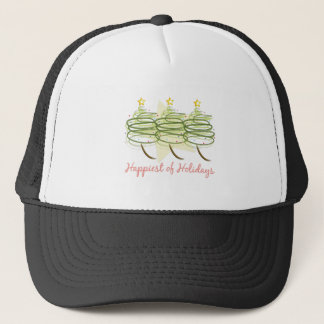 Happiest Holidays Trucker Hat