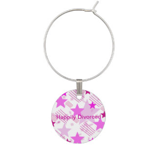 Happily Divorced Wine Charm
