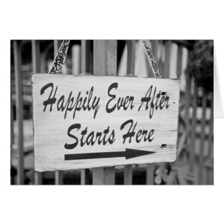 Happily Ever After Note Card