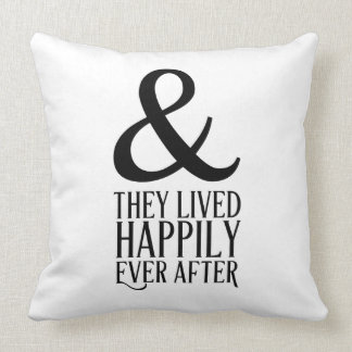 Happily Ever After Throw Cushion