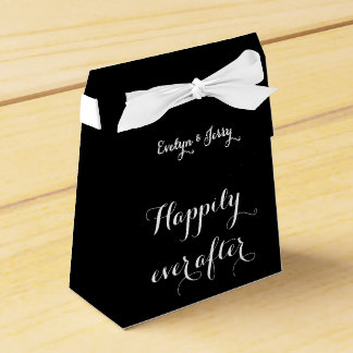 Happily ever after Wedding Favor Boxes Wedding Favour Box