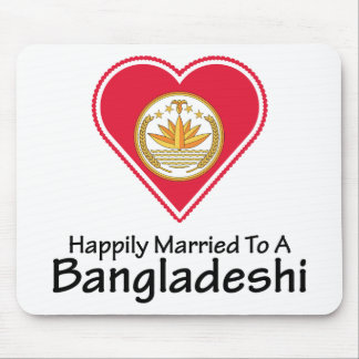 Happily Married Bangladeshi Mouse Pad