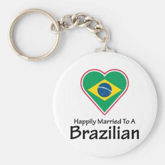 Happily Married Brazilian Key Ring