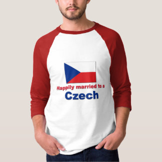 Happily Married Czech T-Shirt