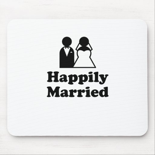 Happily Married Mousepads
