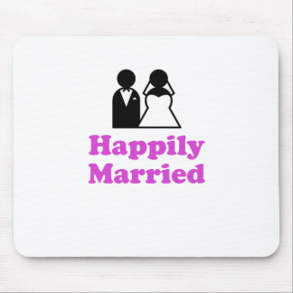 Happily Married Mouse Pads
