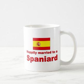 Happily Married Spaniard Basic White Mug