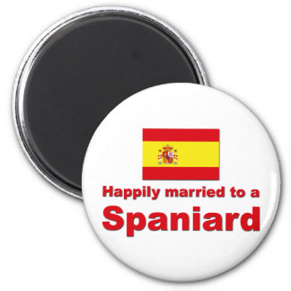 Happily Married Spaniard Magnet