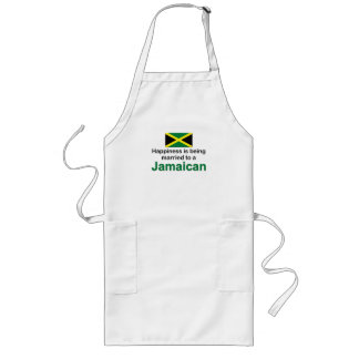 Happily Married To A Jamaican Long Apron