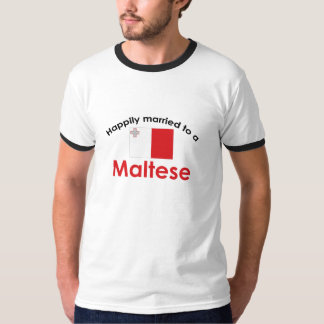 Happily Married To A Maltese T-Shirt
