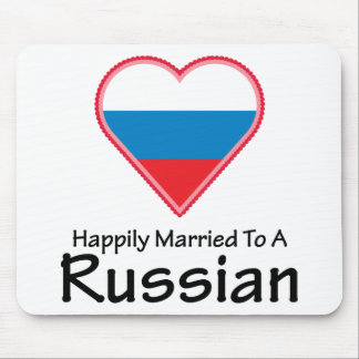 Happily Married to a Russian Mouse Pad