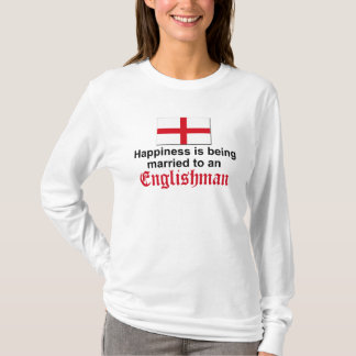 Happily Married to Englishman T-Shirt