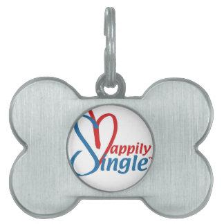 HappilySingle™ Pet Name Tags