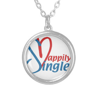 HappilySingle™ Silver Plated Necklace