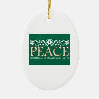 Happines And Joy Ornaments