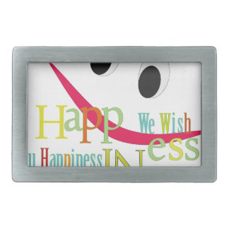 happiness belt buckles