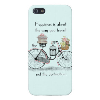 Happiness bike travel iPhone 5 cover