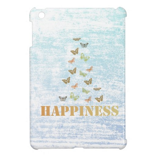 Happiness Butterflies iPad Mini Cover