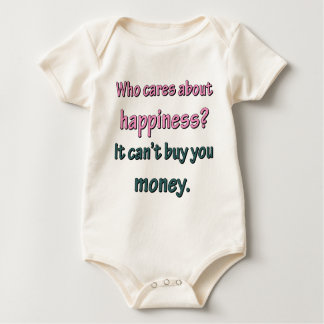 HAPPINESS CAN'T BUY MONEY BABY BODYSUIT