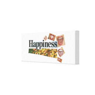 Happiness Canvas Canvas Print